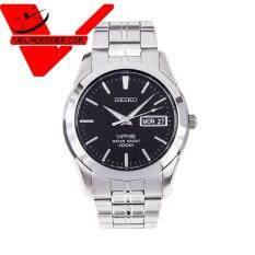 ราคา Seiko Sapphire Glass นาฬิกาข้อมือชาย สายสแตนเลส รุ่น Sgg715P1 Silver ใน พะเยา