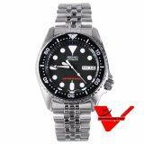 ซื้อ Seiko Scuba Diver Sport Automatic นาฬิกาข้อมือ Stainless Strap รุ่น Skx013K2 ถูก