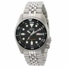 Seiko Skx013K2 Black Dial Automatic Divers Men S Watch Intl เป็นต้นฉบับ
