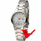 ขาย Seiko Solar นาฬิกาข้อมือผู้หญิง สายสแตนเลส 2 กษัตริย์ รุ่น Sut230P1 ผู้ค้าส่ง