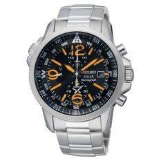 ขาย Seiko Solar Black Watch Ssc077P1 Seiko ออนไลน์