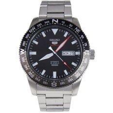 ความคิดเห็น Seiko นาฬิกาข้อมือผู้ชาย Sports 5 Automatic สีเงิน สีดำ สายสแตนเลส รุ่น Srp669K1