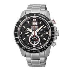 โปรโมชั่น Seiko นาฬิกาผู้ชาย สายสแตนเลส Sportura Chronograph รุ่น Spc137P1 Silver ถูก