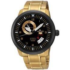 ขาย ซื้อ Seiko นาฬิกาข้อมือผู้ชาย Ssa210K1 Automatic 24 Jewels Date Gold Tone Stainless Steel