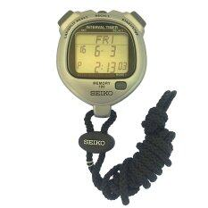 Seiko Stopwatch นาฬิกาจับเวลา สีเงิน รุ่น S23603P ไทย