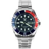 ราคา Seiko Submariner Automatic Stainless Strap รุ่น Snzf15K1 สีเงิน สีน้ำเงิน สีแดง ใหม่ล่าสุด