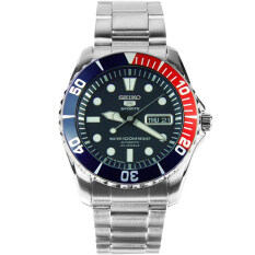 ซื้อ Seiko Submariner Automatic Stainless Strap รุ่น Snzf15K1 สีเงิน สีน้ำเงิน สีแดง ใน ไทย