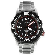ซื้อ Seiko Superior Automatic Japan Mens Watch สีเงิน สายสแตนเลส รุ่น Seiko Srp445J1 ถูก ใน ไทย