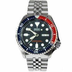 โปรโมชั่น Seiko Watch Diver Silver Stainless Steel Case สเตนเลสสตีล Mens Skx009K2 Blue ถูก