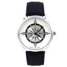 ซื้อ Sevenlight Bariho นาฬิกาข้อมือผู้ชาย รุ่น Gp9191 Black White ถูก ใน Thailand