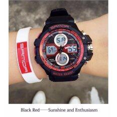 ซื้อ Sevenlight นาฬิกาข้อมือผู้หญิง ร่น Gp9217 Black Red ใหม่ล่าสุด