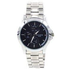 ส่วนลด Sevenlight Kalbor นาฬิกาข้อมือผู้ชาย Gp9225 Black Silver ไทย