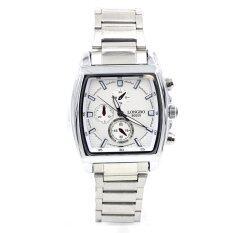 ราคา Sevenlight นาฬิกาข้อมือผู้ชาย Gp9116 Silver White ถูก