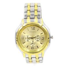 Sevenlight นาฬิกาข้อมือผู้ชาย Gp9181 Gold Silver ถูก