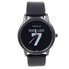 ทบทวน ที่สุด Sevenlight นาฬิกาข้อมือ Unisex ใส่ได้ทั้งชายและหญิง Wp8146 Black
