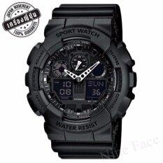 Sevenlight S Sport นาฬิกาข้อมือ - Gp9210 (pure Black).