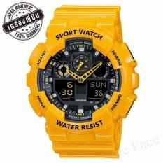 Sevenlight S Sport นาฬิกาข้อมือ - Gp9210 (yellow).