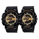 ความคิดเห็น Sevenlight S Sport นาฬิกาข้อมือคู่ แถมกล่องสวยหรู Gp9210 Black Goldx2