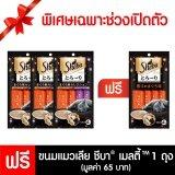 ซื้อ Sheba®ขนมแมว เมลตี้ รสทูน่า รสทูน่าและซีฟู้ด 4X12G 3 ถุง ถูก