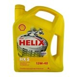ราคา Shell น้ำมันเครื่อง Helix Hx5 15W 40 เบนซิน 4 ลิตร ที่สุด