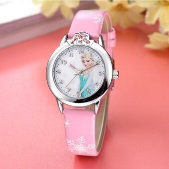 นาฬิกาควอทซ์ของเด็ก น่ารักกันน้ำ