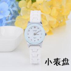 ขาย นาฬิกาแนวโน้มสีขาวนางสาวกันน้ำ ผู้ค้าส่ง