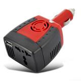 ซื้อ Shop108 Car Inverter150W แปลงไฟรถเป็นไฟบ้าน 12V Dc To 220V Ac 5V Usb Port ใหม่