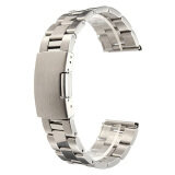 Silver Stainless Steel Watch Band Strap Straight End Bracelet Link 24Mm Unbranded Generic ถูก ใน แองโกลา