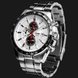 ราคา Simplehome Skmei 980 Three Young Men Six Pin Calendar Quartz Watch Stainless Steel Business White Intl จีน