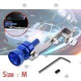ขาย ซื้อ ออนไลน์ Sinlin ตัวแปลงเสียงท่อรถยนต์ ตัวทำเสียงเทอร์โบ เสียงเทอร์โบหลอก Car Turbo Sound รุ่น Cts M101 สีน้ำเงิน เงิน ไซส์ M