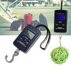 ราคา Sinlin เครื่องชั่งน้ำหนัก เครื่องชั่งกระเป๋า ดิจิตอล แบบพกพา Electronic Luggage Scale Blacklight 40Kg 10G รุ่น Yw011 Black Sinlin เป็นต้นฉบับ