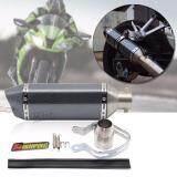 ซื้อ Sinlin ท่อสูตร ท่อไอเสียรถจักรยานยนต์ มอไซค์ ท่อคาร์บอน ปลายท่อทรงรีลายเคฟล่า รุ่น Mte202 Io ออนไลน์ กรุงเทพมหานคร