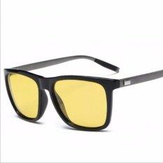 ขาย ซื้อ Sisyphus Stone Yellow Lens Sunglasses Night Driving Vision Glasses Eyewear Uv400 387 Intl ใน จีน
