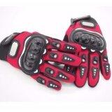 ราคา ถุงมือมอเตอร์ไซค์ ถุงมือขี่มอเตอร์ไซค์ ถุงมือหนัง เต็มนิ้ว Size L Red Unbranded Generic เป็นต้นฉบับ