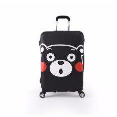 ซื้อ ผ้าคลุมกระเป๋าเดินทางลายหมีคุมะหน้าตรง Size S ขนาดกระเป๋า 18 21 นิ้ว ใหม่