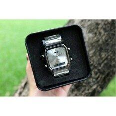 Skmei สินค้าแท้ 100 นาฬิกาสองระบบ สายสแตนเลสรุ่นฮิตใส่ได้ทั้งชายและหญิง กันน้ำ 30 เมตรรุ่น Sk1220 ใน กรุงเทพมหานคร
