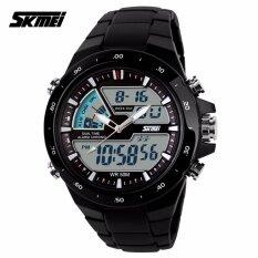 ขาย Skmei นาฬิกาข้อมือผู้ชาย ของแท้ 100 พร้อมกล่องครบเซ็ท มัลติฟังชั่น สายเรซิน รุ่น Sk1016 Skmei เป็นต้นฉบับ