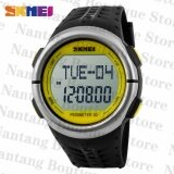 ราคา Skmei 1058 Heart Rate Monitor Pedometer Sport Watch Yellow Skmei จีน