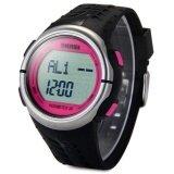 ราคา Skmei 1058 Heart Rate Sports Led Watch With Pedometer Function Water Resistance Intl ใหม่ล่าสุด