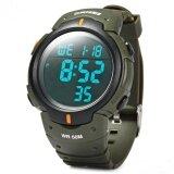 ความคิดเห็น Skmei 1068 Military Army Led Watch Water Resistant Stopwatch Alarm Day Date Function Intl