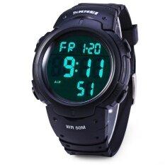 ซื้อ นาฬิกาข้อมือ 1068 ทหารนาฬิกาปลุกนาฬิกาปลุกกันน้ำนาฬิกาปลุกกันน้ำวันที่ฟังก์ชัน นานาชาติ Skmei ออนไลน์