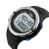 ซื้อ Skmei 1111 นาฬิกาดิจิตอลกีฬากับอัตราการเต้นของหัวใจเครื่องวัดระยะทางเดินทนน้ำฟังก์ชัน สีน้ำเงิน ซี ถูก ใน สมุทรปราการ