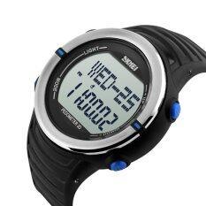 Skmei 1111 นาฬิกาดิจิตอลกีฬากับอัตราการเต้นของหัวใจเครื่องวัดระยะทางเดินทนน้ำฟังก์ชัน สีน้ำเงิน ซี ใน สมุทรปราการ