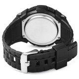 ขาย ซื้อ Skmei 1112 มัลติฟังก์ชั่ 3D นาฬิกาข้อมือเครื่องวัดระยะทางเดินตัวผู้สีดำ ใน จีน
