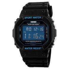 ราคา Skmei 1134คนนาฬิกาดิจิตอลนาฬิกา Led ยี่ห้อแฟชั่นกีฬากลางแจ้งนาฬิกาข้อมือ ราคาถูกที่สุด