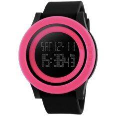 ราคา Skmei นาฬิกาข้อมือ กันน้ำ ผู้ชาย ดิจิตอล รุ่น 1142 สีชมพู Led Digital Water Resistant Sport Men Watch Pink ราคาถูกที่สุด
