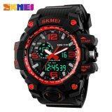 ขาย Skmei 1155 นาฬิกาข้อมือแฟชั่น สำหรับผู้ชาย หน้าปัด Led กันน้ำ50เมตร ถูก ใน จีน