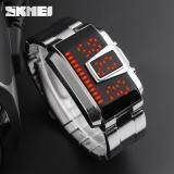 ซื้อ Skmei 1179 Fashion Creative Led Sports Watches Men Quartz 5Atm Waterproof Watch Digital Wristwatches ออนไลน์ จีน
