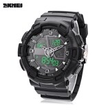 ขาย Skmei 1189 Dual Movt Digital Quartz Sports Watch Calendar Alarm Chronograph Display Wristwatch Black Intl ถูก จีน