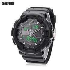 ขาย Skmei 1189 Dual Movt Digital Quartz Sports Watch Calendar Alarm Chronograph Display Wristwatch Black Intl ออนไลน์ จีน